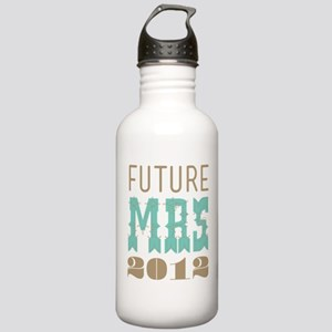 Future Mrs 2012 Cockatoo Stainless Water Bottle 1.